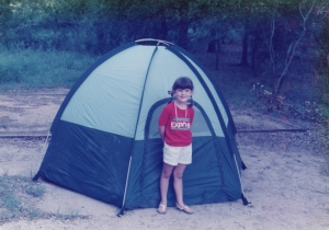 The Authoress as a Young Camper