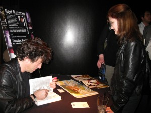 I was a blabbering idiot when I met my hero Neil Gaiman