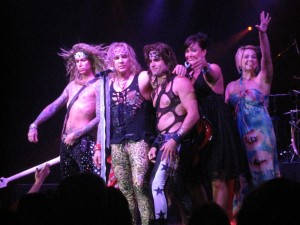 Steel Panther the way I know them best: with girls on the stage