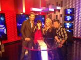 With Jaymes, Rachel and our photographer at Fox 5.